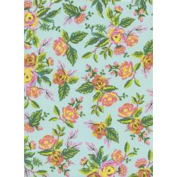Menagerie - Jardin De Paris in Mint -- Rifle Paper Co for Cotton + Steel Fabrics