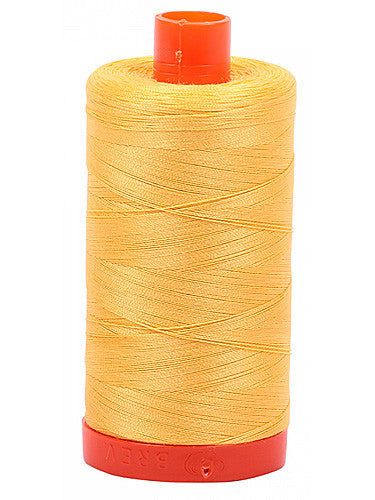 Aurifil Cotton Mako Thread 50 Wt -- Pale Yellow-- 1135