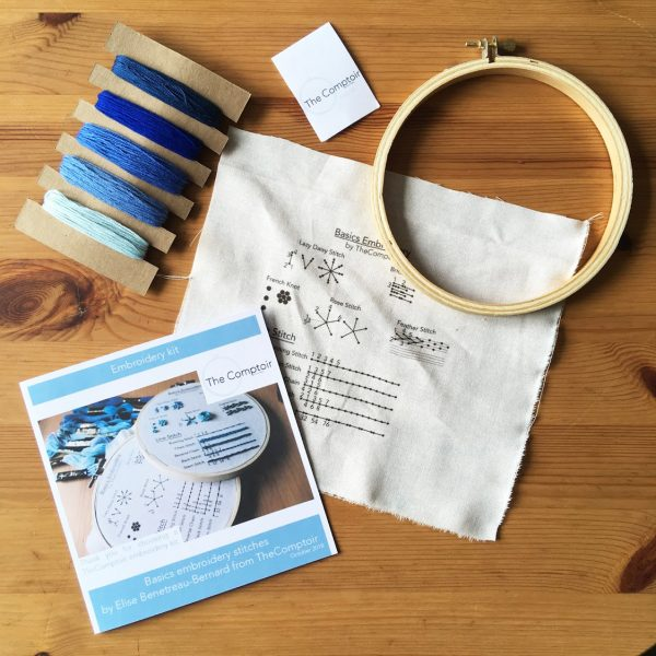 Basics Embroidery Kit by The Comptoir