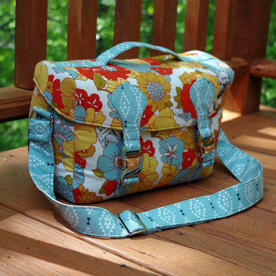 Camille Camera Bag Sewing Pattern-- Swoon Sewing Patterns