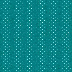 Stitch and Repeat in Teal -- Cotton+Steel Basics --- Cotton + Steel