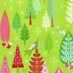 Winter Woods---Festive Forest Collection by Tamara Kate for Michael Miller Fabics