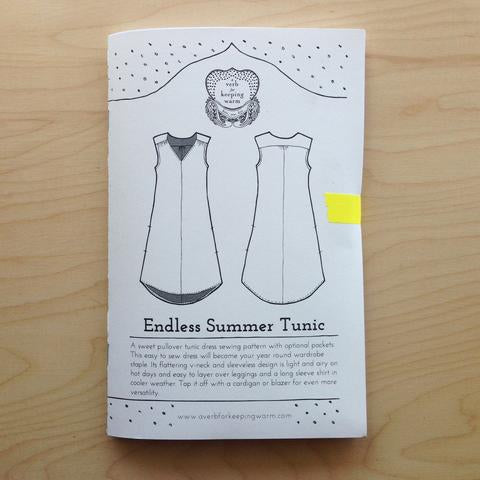 Endless Summer Tunic -- A Verb for Keeping Warm