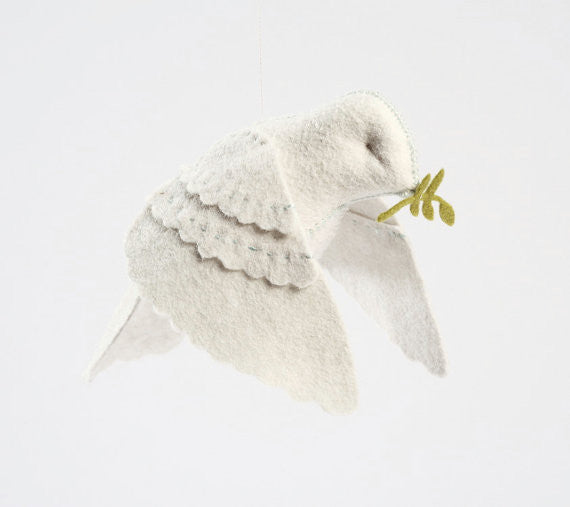 Dove in Flight Felt Kit-- Cynthia Treen Studios