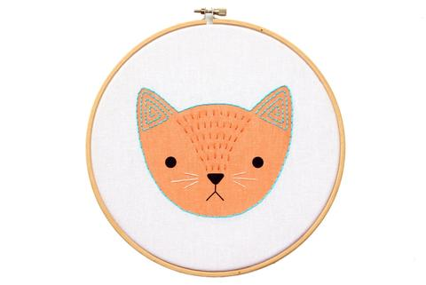 Kitten Hoop Art Kit by Kiriki Press