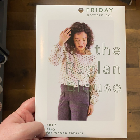 The Raglan Blouse Pattern -- Friday Pattern Company