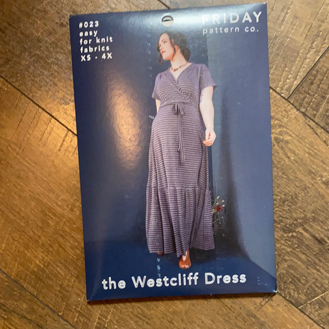 The Weatcliff Dress Pattern -- Friday Pattern Company