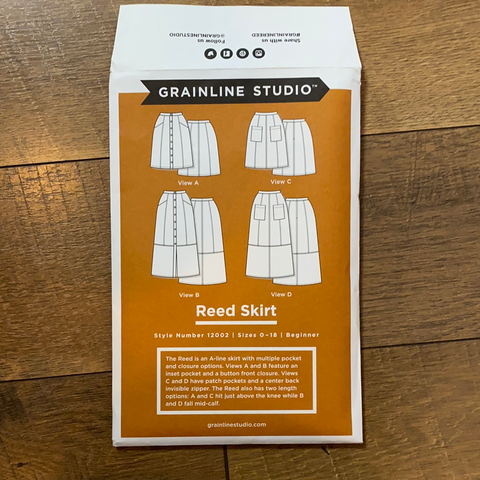 Reed Skirt Pattern — Grainline Studios