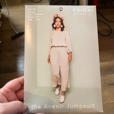 The Avenir Jumpsuit Pattern -- Friday Pattern Company