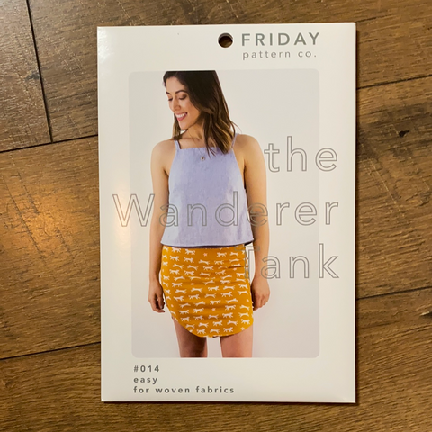 The Wanderer Tank Pattern -- Friday Pattern Company