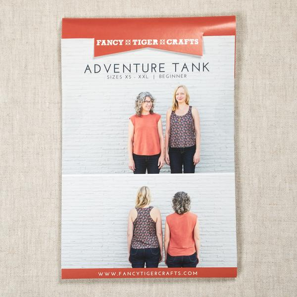Adventure Tank Pattern -- Fancy Tiger Crafts
