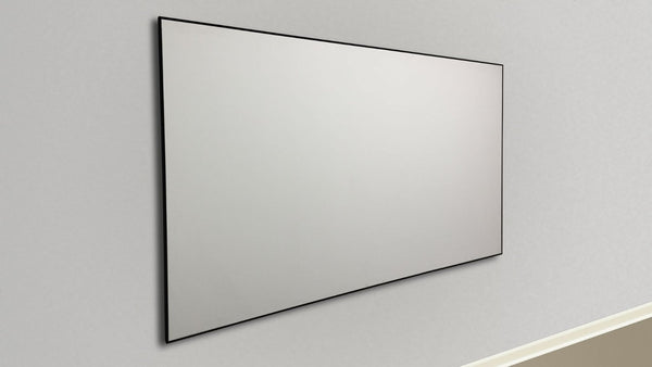 Thin Bezel Fixed Projection Screens – Silver Ticket Products
