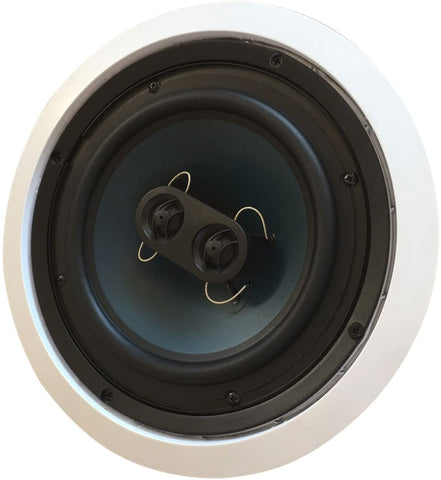 LIKE NEW 82S2C Silver Ticket CLEARANCE in-Wall in-Ceiling Speaker with Pivoting Tweeter (2 Channel Stereo 8 Inch in-Ceiling) (1 Speaker, White)
