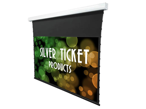 MPT Series Silver Ticket Products 16:9 4K / 8K Tab Tension Electric Projection Screens