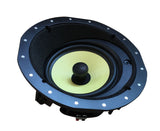 Silver Ticket Products YK Speaker Line with Woven Woofer, Magnetic Grill and 25mm Titanium Silk Dome Pivoting Tweeter