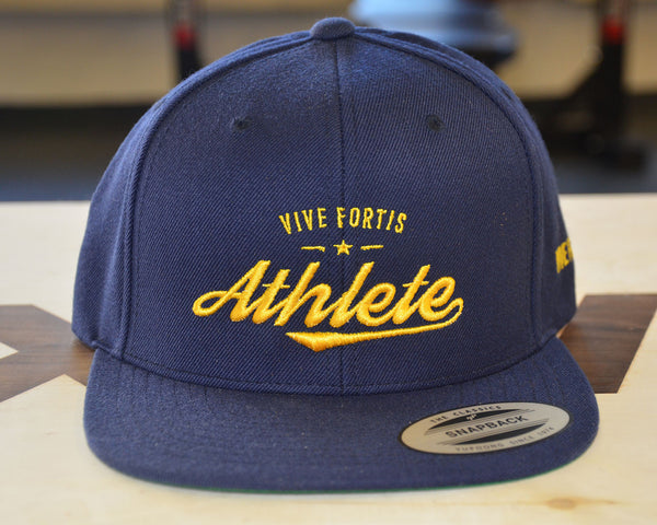 Athlete Snapback - Blue | Yellow - Vive Fortis - 1