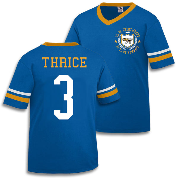 Official Thrice To Be Everywhere Is To Be Nowhere Soccer Jersey