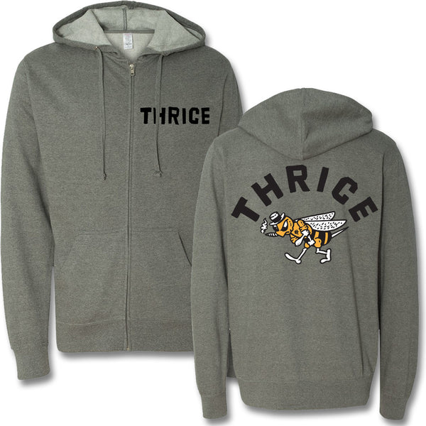 Official Thrice Black Honey Hoodie