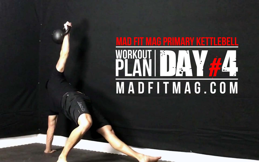 Day #4: Full Body Primary Kettlebell Workout #2