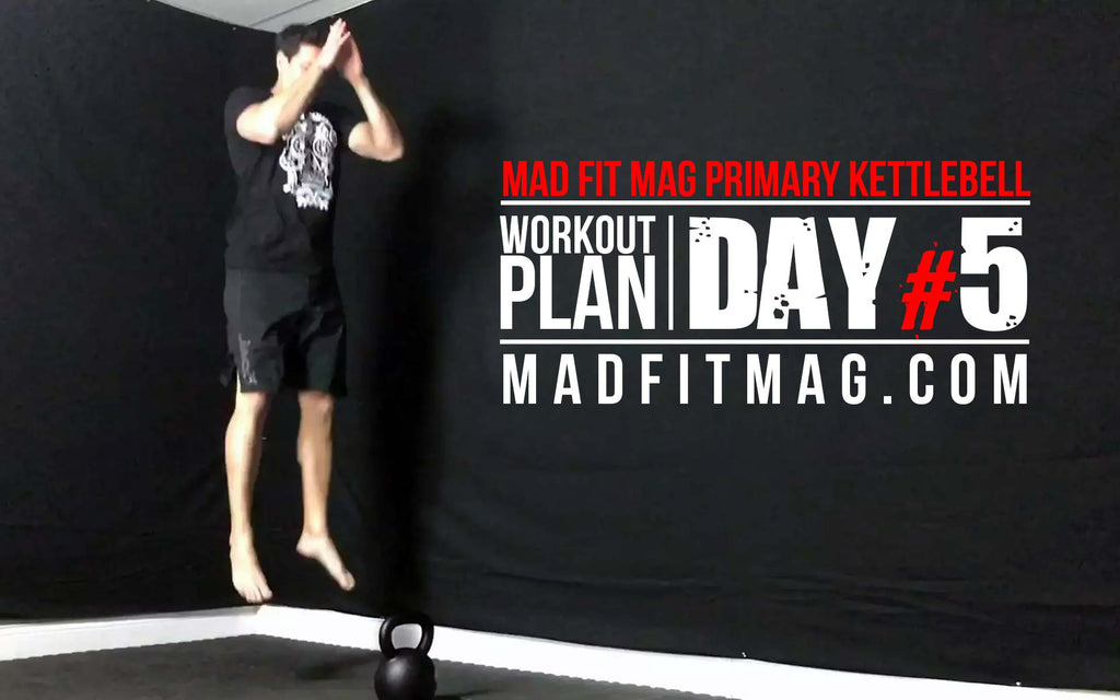 Day 5 LOWER Body Primary Kettlebell Workout