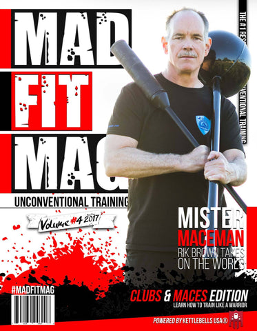 Mace/Club Edition of Mad Fit Mag - DIGITAL - Issue 4