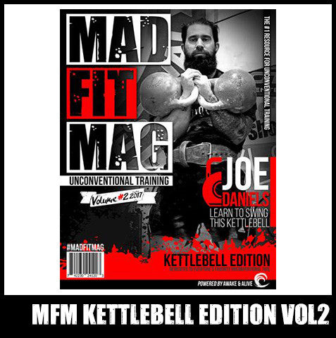 Kettlebell Edition of Mad Fit Mag - PRINT - Issue 2 - SOLD OUT