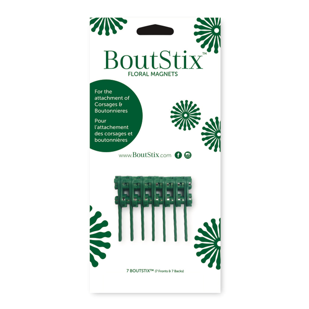 BoutStix Floral Magnets Pack of 7 Magnets