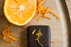 Orange Sunshine - Smooth Dark Chocolate and ripe, refreshing orange