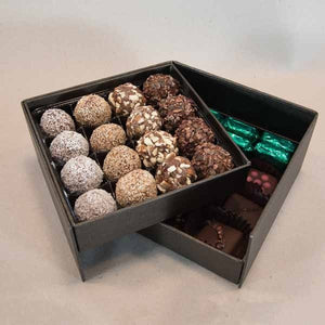 Two Tier Gift Box - Super Natural Chocolate Co