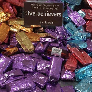 Overachievers, Underachievers & Cosmetically Challenged Truffles - Super Natural Chocolate Co