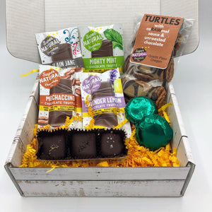 Little Chocolate Sampler - Super Natural Chocolate Co