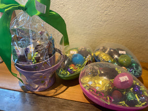 Assorted Raw Chocolate Easter Egg-medium-Dairy Free, Gluten Free - Super Natural Chocolate Co