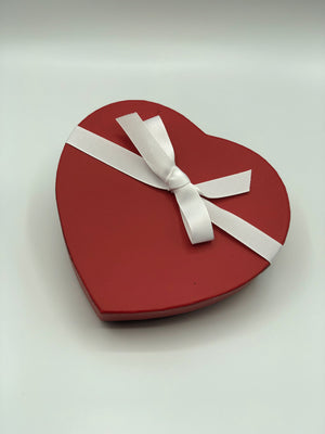 Valentines Day Heart Assorted Raw Chocolate, Medium Box - Super Natural Chocolate Co