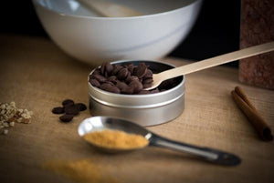 Raw Dark Chocolate Chips - Super Natural Chocolate Co