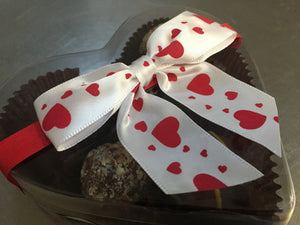 Valentines Day Assorted Raw Chocolate, Small Box - Super Natural Chocolate Co