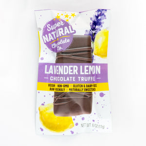 Raw Chocolate Mini Truffle Bars - Super Natural Chocolate Co