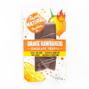 12 Piece Mini Truffle Bars, One Flavor - Super Natural Chocolate Co