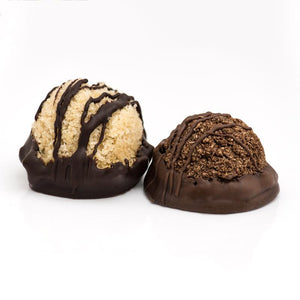 Raw Dark Chocolate Dipped Vegan Macaroons, Vanilla & Chocolate - Super Natural Chocolate Co