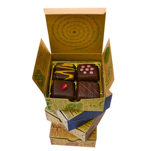 Chocolatier's Choice Truffle Sampler (8 Piece Box) - Super Natural Chocolate Co