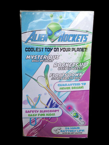 Alien Rocket Wholesale - 100 Rocket Pack with 10 FREE replacement rockets and Free Shipping.