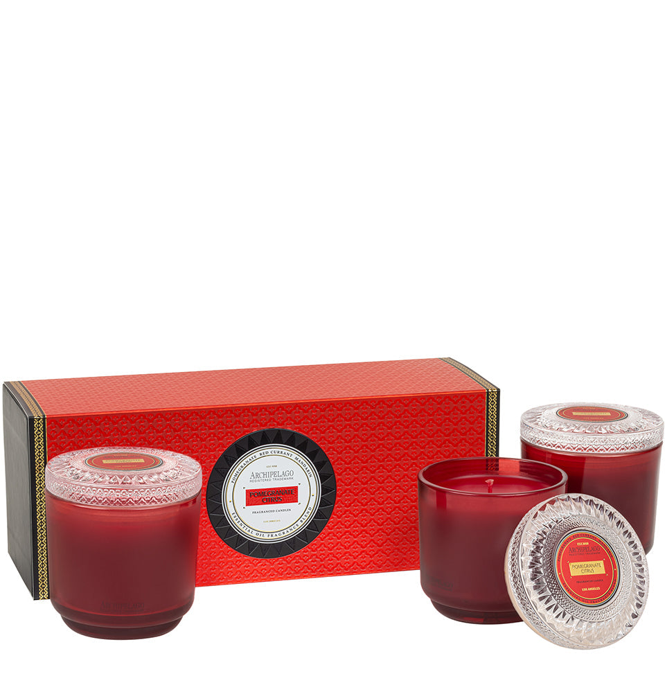 Pomegranate Citrus Petite Hostess Gift Set