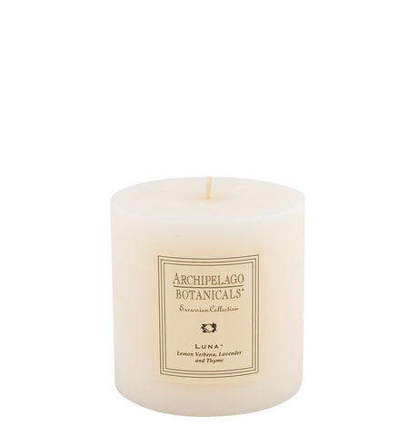 Luna Medium Pillar Candle