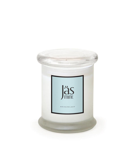 Jasmine Frosted Jar Candle