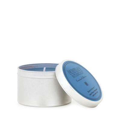 Santorini Travel Tin Candle