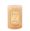 Kashmir Large Pillar Candle is blended with Orange Blossom, Sandalwood, and Kashmir Vanilla - Archipelago
