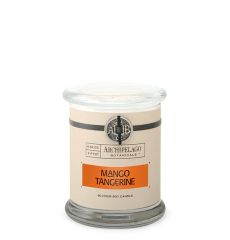 Mango Tangerine Glass Jar Candle