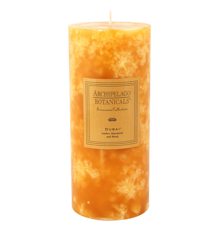 Dubai Tall Pillar Candle