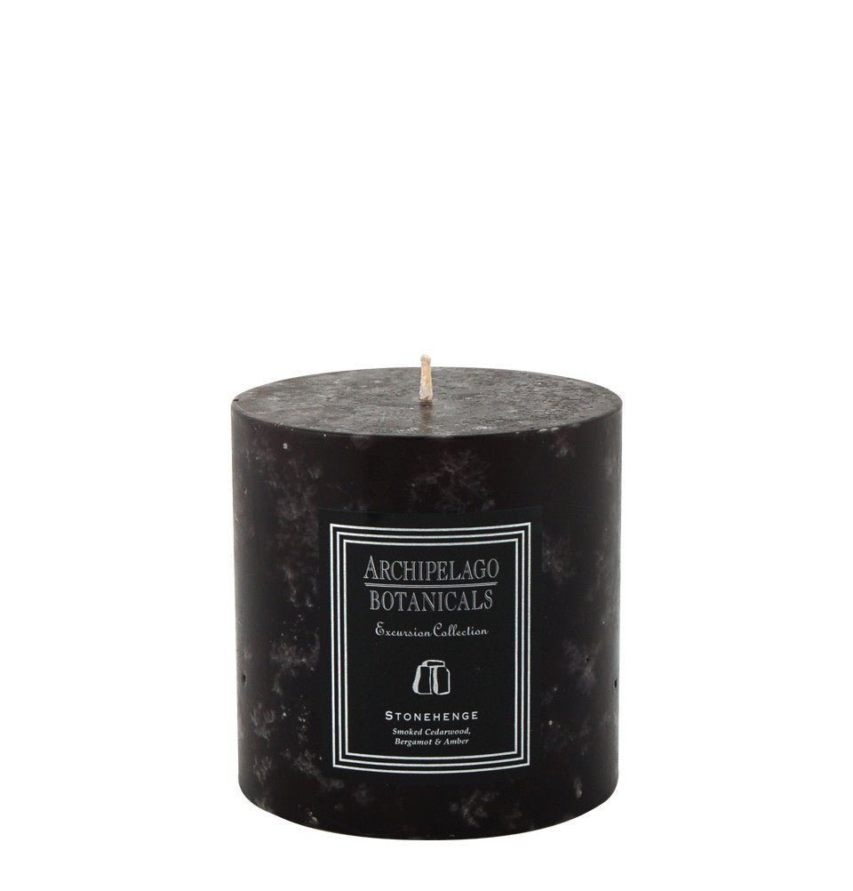 Stonehenge Medium Pillar Candle