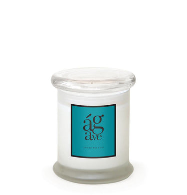 Agave Frosted Jar Candle