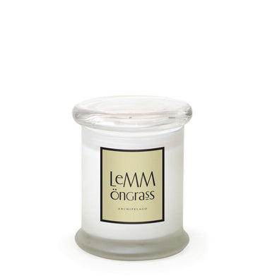 Lemmongrass Frosted Jar Candle - Archipelago